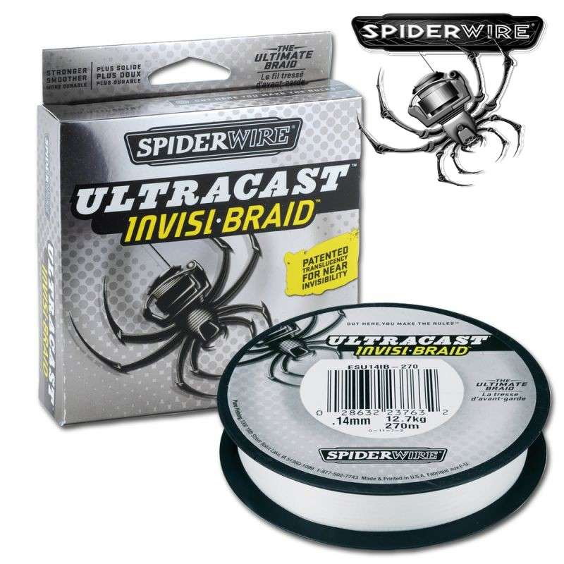 SpiderWire Ultracast Invisi Braid mt. 110 diam. 0,12 SpiderWire Ultracast Invisi Braid mt. 110 diam. 0,12 Mondo Pesca