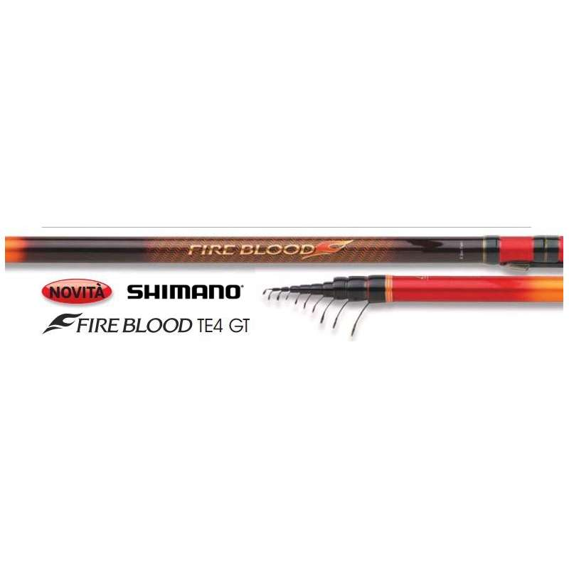 Shimano FIREBLOOD TE4 mt. 7,00