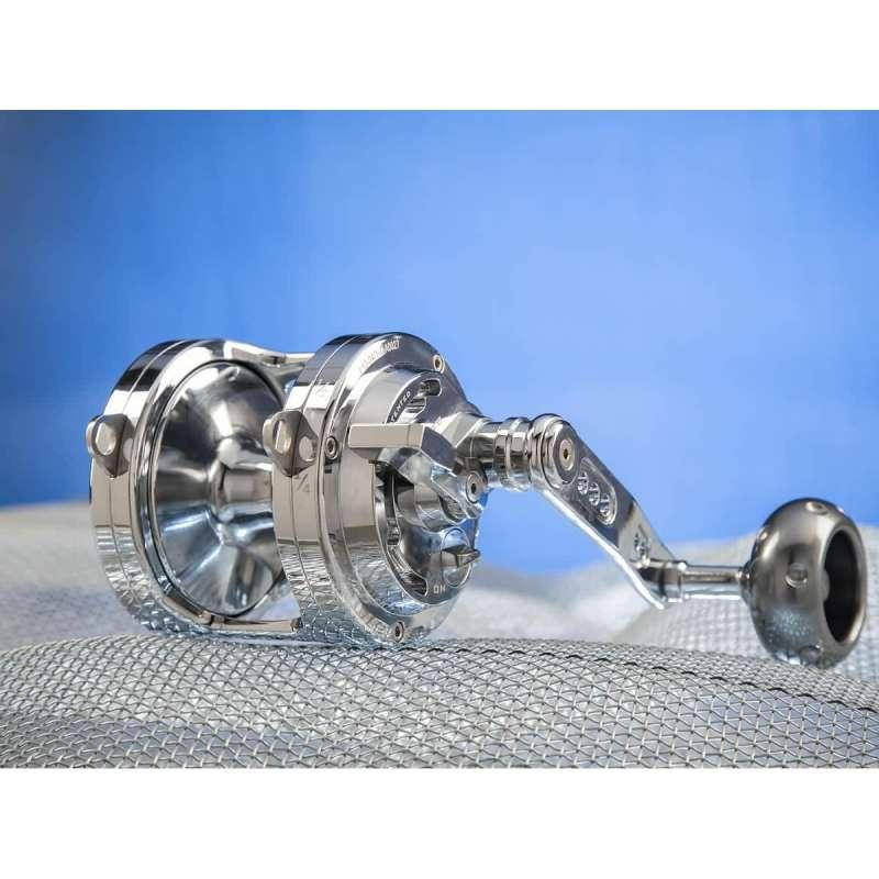 Italcanna Gladiator Cub 40 Silver doppia frizione capacity 345 mt. 50 lbs