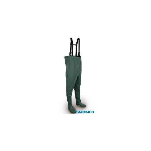 SHIMANO WADERS PVC Waders SHIMANO PVC. Waders in pvc resinato internamente, elevata qualità e notevole leggerezza. Altamente id