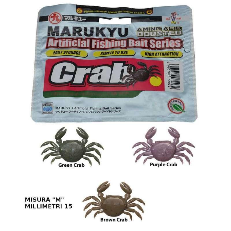 """Marukyu CRAB Artificiale Marukyu CRAB misura """"M"""" mm. 15. Trattasi di imitazione di Granchio talmente ben fatta che in molti la"""
