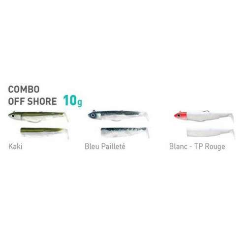 BLACK MINNOW Taglia 2 Combo & Double Combo