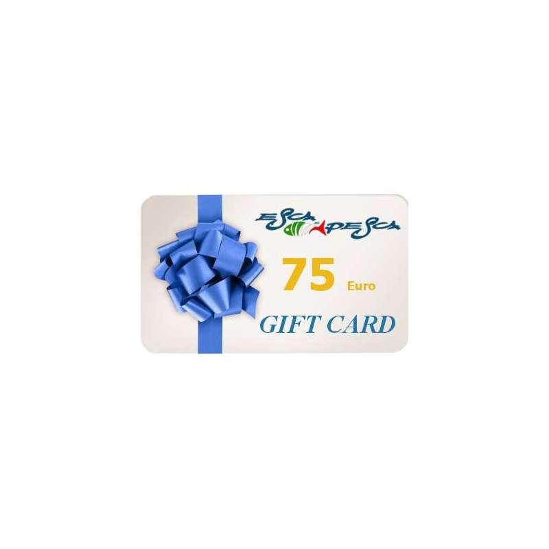 GIFT CARD 75 Euro Acquista una Gift Card da regalare ad un amico o ad una persona cara per un regalo di compleanno per Natale o