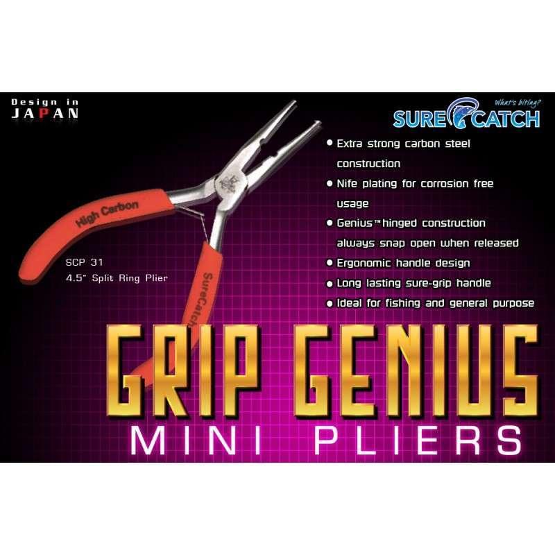 """Surecatch GRIP GENIUS MINI PLIERS 4.5"""""""